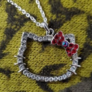 Hello Kitty sweater necklace